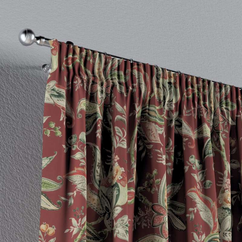 Függöny ráncolóval a kollekcióból Gardenia Lakástextil, Dekoranyag: 142-12