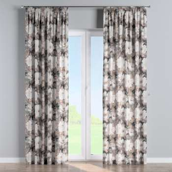 Pencil pleat curtains in collection Gardenia, fabric: 142-13