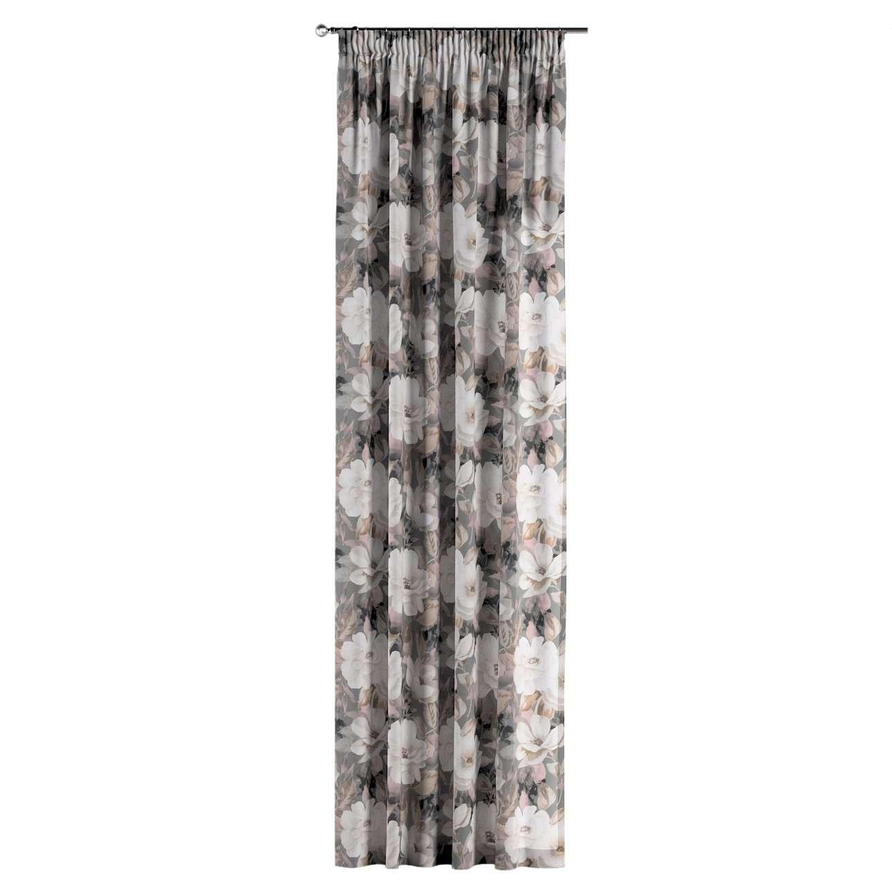 Zasłona na taśmie marszczącej 1 szt. w kolekcji Gardenia, tkanina: 142-13