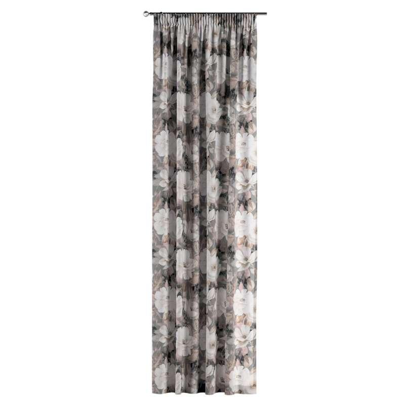 Függöny ráncolóval a kollekcióból Gardenia Lakástextil, Dekoranyag: 142-13