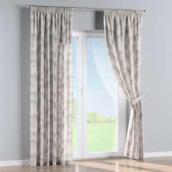 Pencil pleat curtains in collection Gardenia, fabric: 142-14