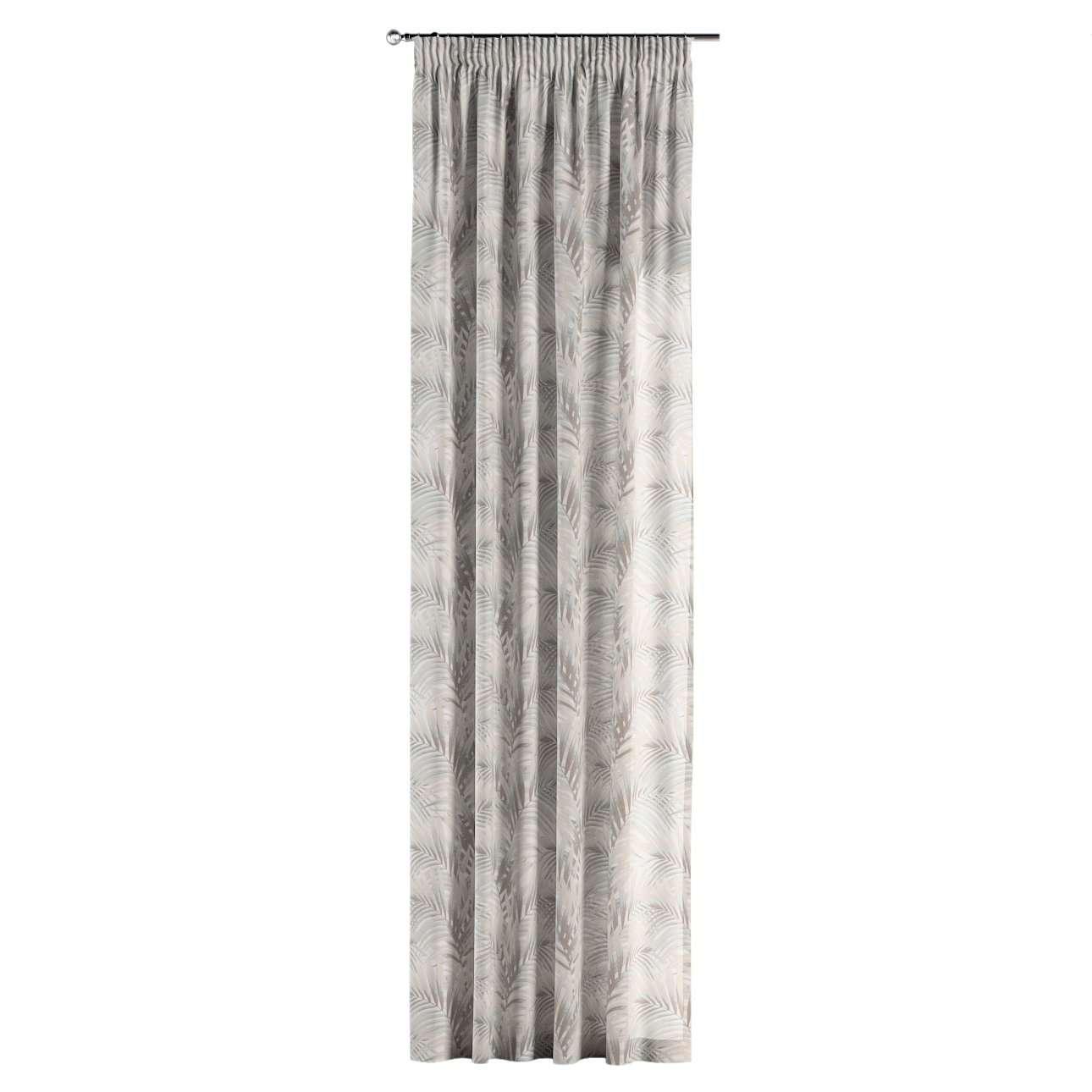 Zasłona na taśmie marszczącej 1 szt. w kolekcji Gardenia, tkanina: 142-14