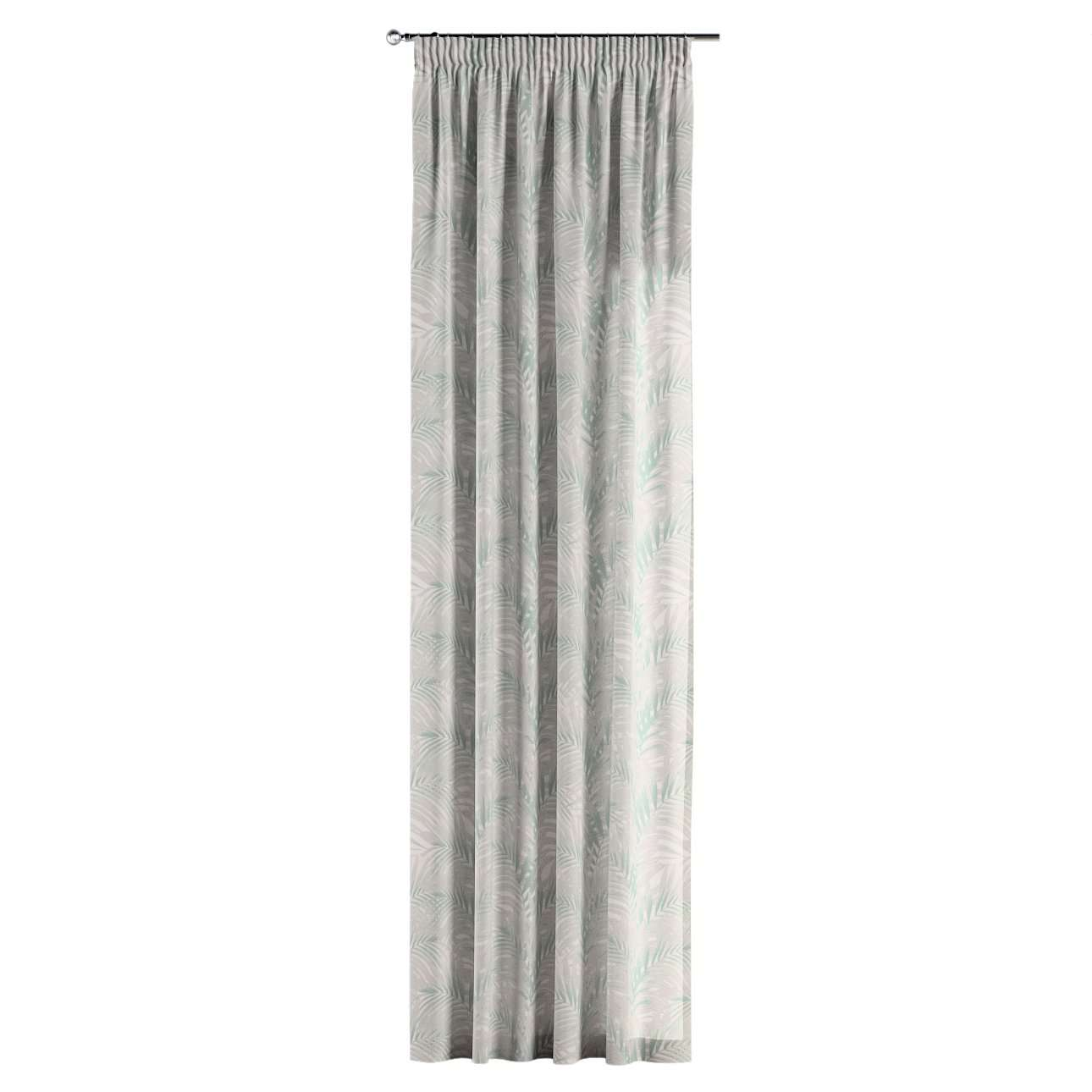 Pencil pleat curtains in collection Gardenia, fabric: 142-15