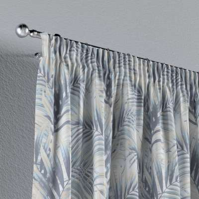 Pencil pleat curtains in collection Gardenia, fabric: 142-16