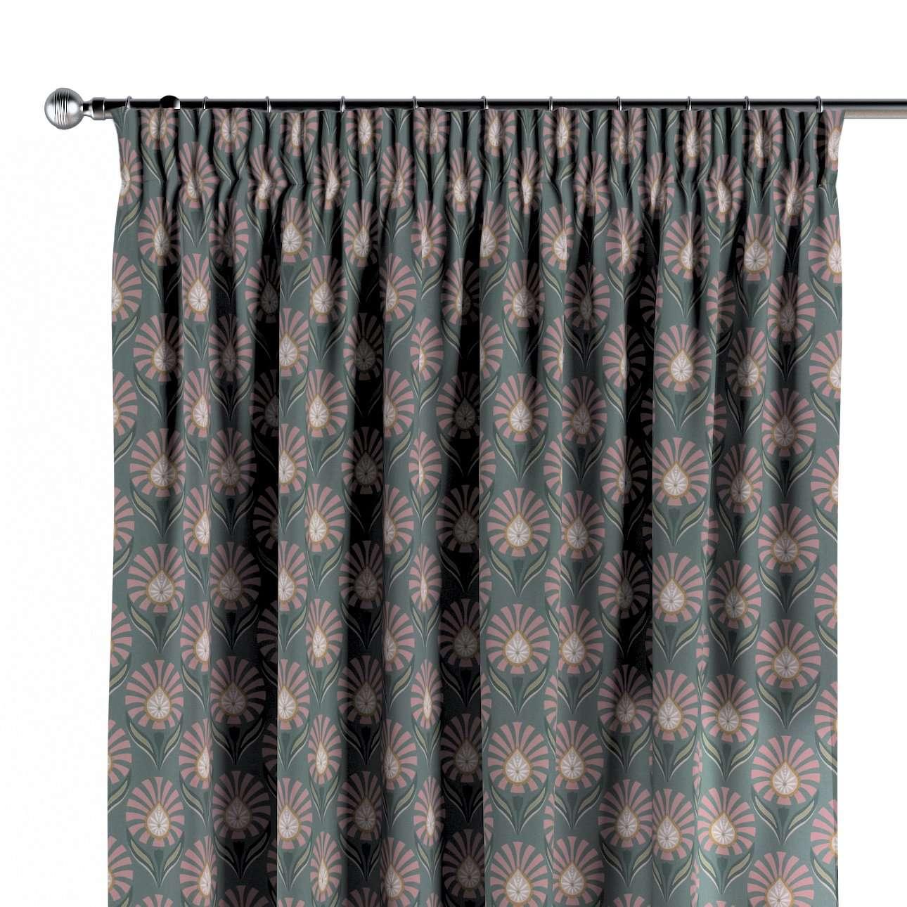 Závěs s řasící páskou v kolekci Gardenia, látka: 142-17