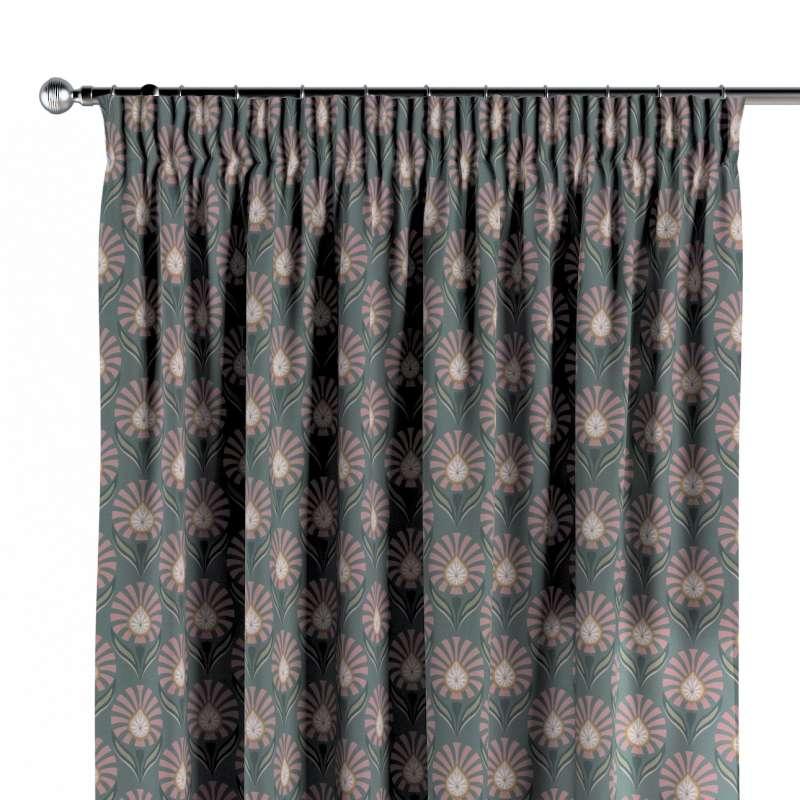 Zasłona na taśmie marszczącej 1 szt. w kolekcji Gardenia, tkanina: 142-17
