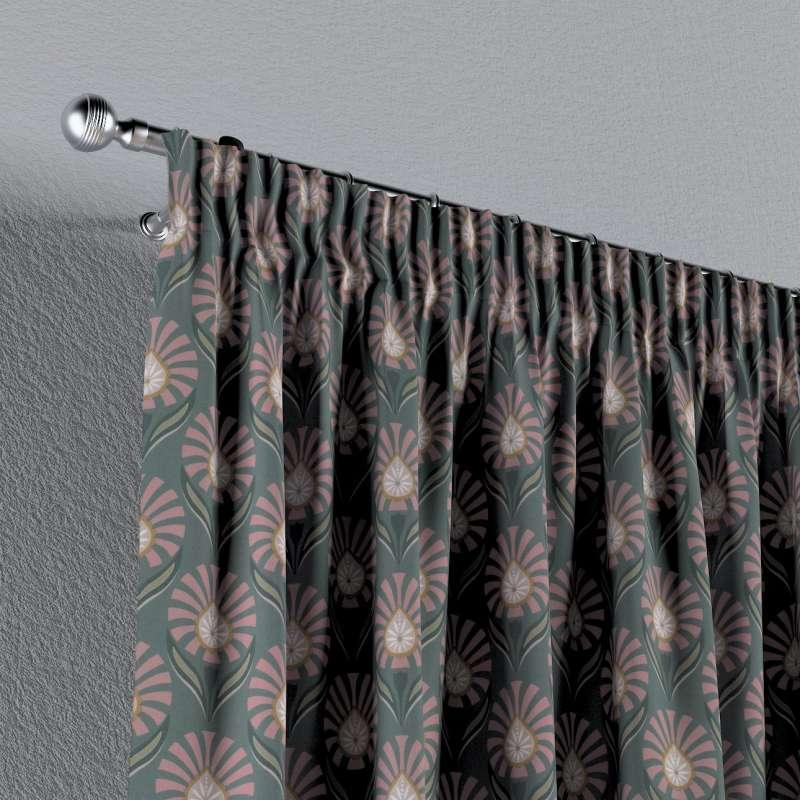 Vorhang mit Kräuselband von der Kollektion Gardenia, Stoff: 142-17