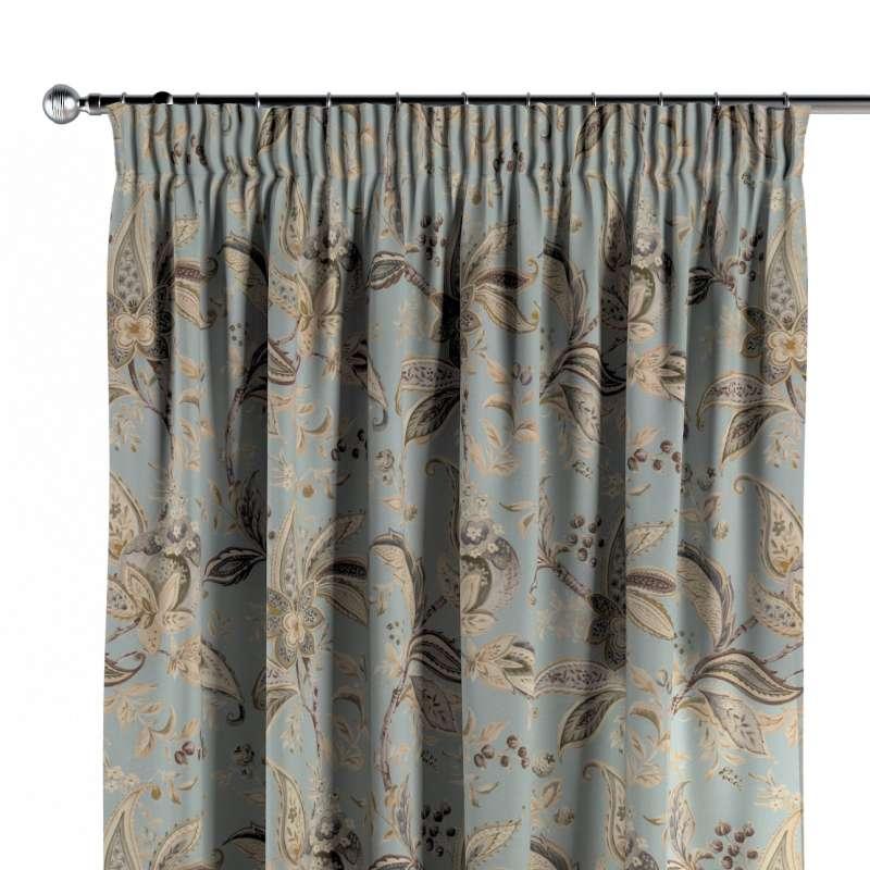 Verho rypytysnauhalla mallistosta Gardenia, Kangas: 142-18