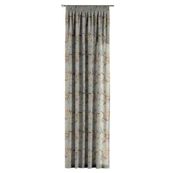 Závěs s řasící páskou v kolekci Gardenia, látka: 142-18