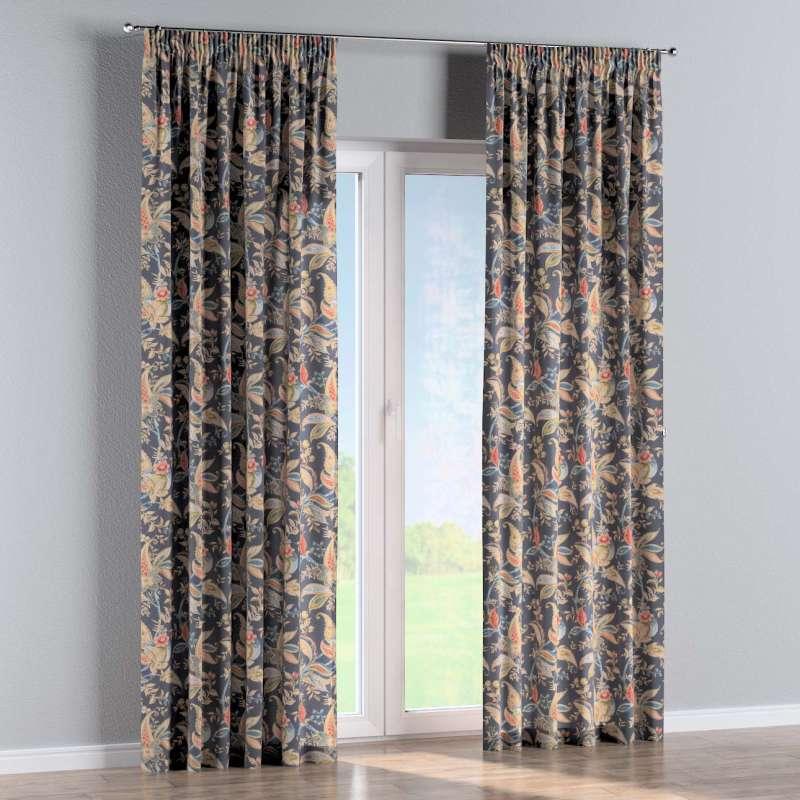 Zasłona na taśmie marszczącej 1 szt. w kolekcji Gardenia, tkanina: 142-19