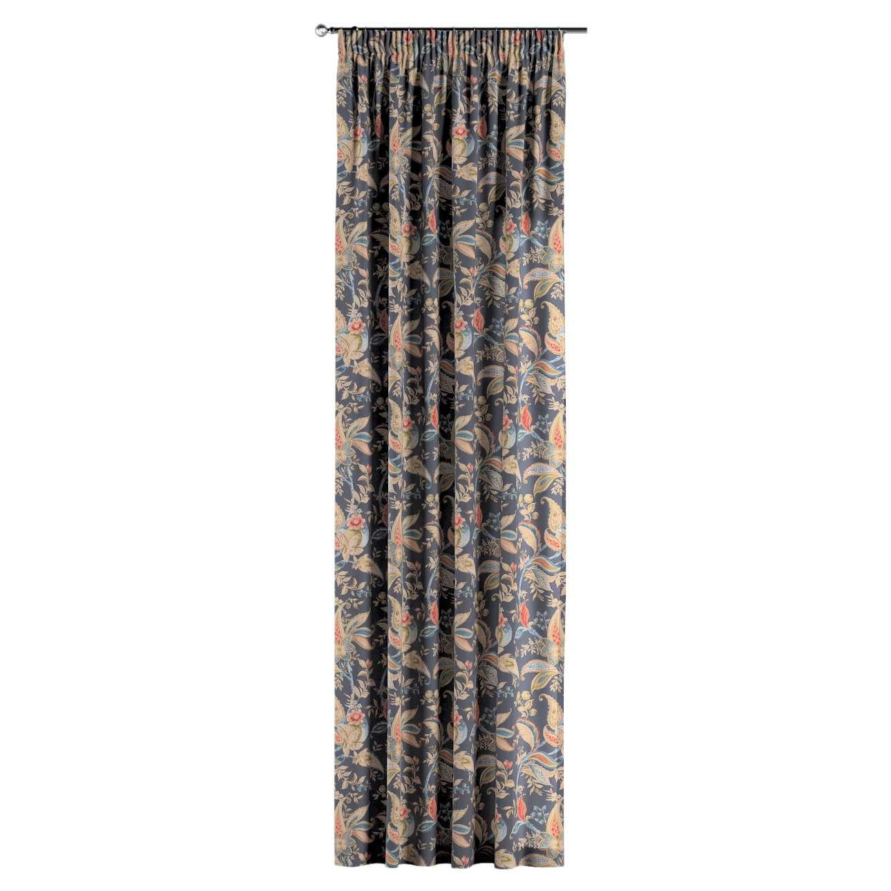 Závěs s řasící páskou v kolekci Gardenia, látka: 142-19