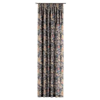 Záves na riasiacej páske V kolekcii Gardenia, tkanina: 142-19