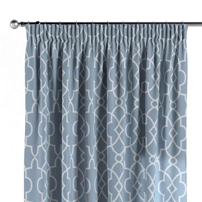 Pencil pleat curtain in collection Gardenia, fabric: 142-22
