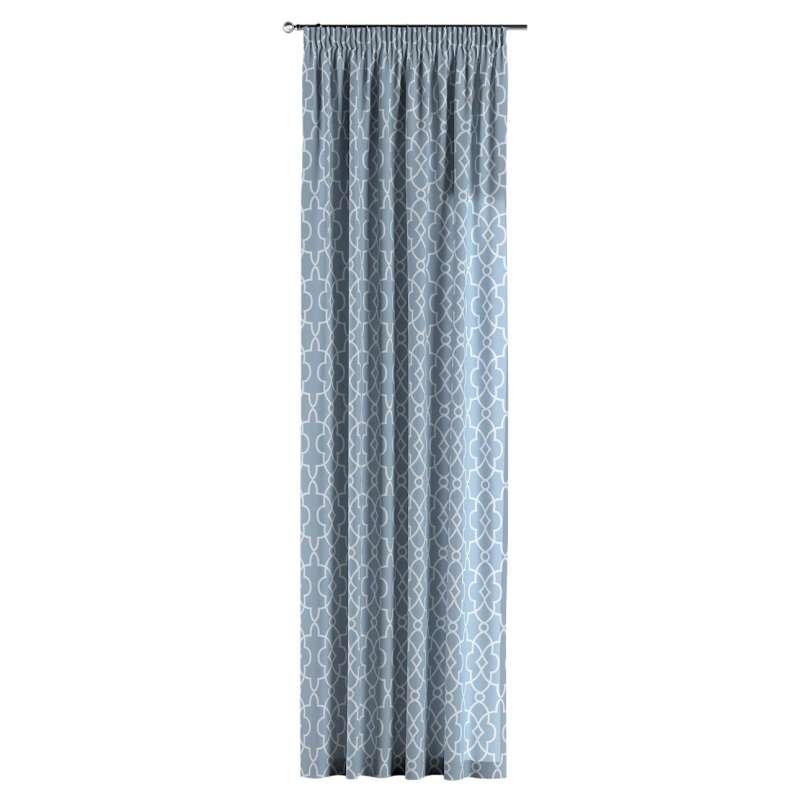Vorhang mit Kräuselband von der Kollektion Gardenia, Stoff: 142-22