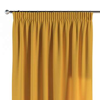 Pencil pleat curtains in collection Woolly, fabric: 142-32
