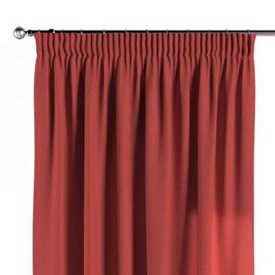 Vorhang mit Kräuselband 142-33 rot Kollektion SALE