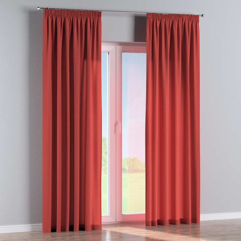 Pencil pleat curtains in collection Edinburgh, fabric: 142-33