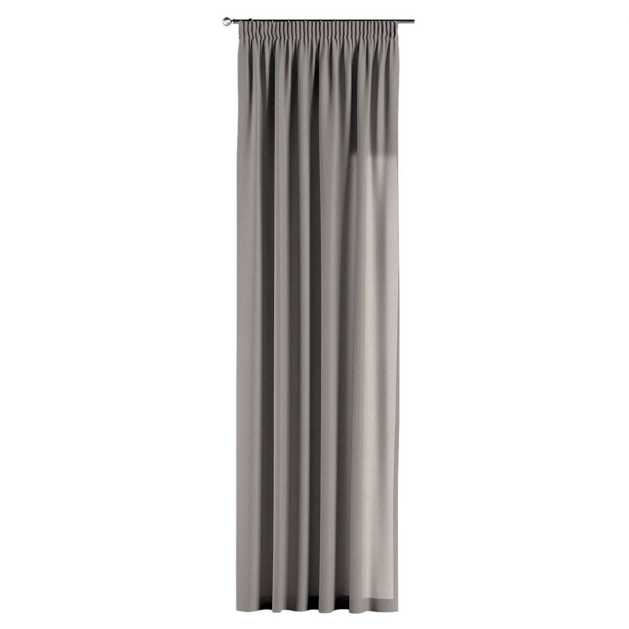Pencil pleat curtains in collection Woolly, fabric: 142-36