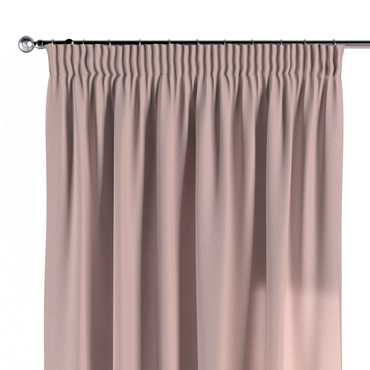 Pencil pleat curtains in collection Woolly, fabric: 142-38