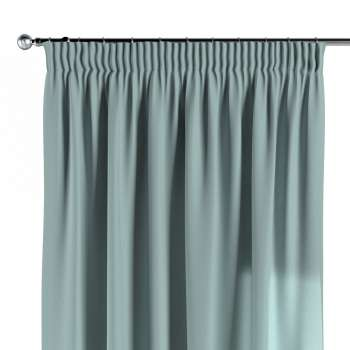 Pencil pleat curtains in collection Woolly, fabric: 142-39