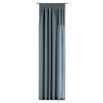 Pencil pleat curtains in collection Woolly, fabric: 142-40