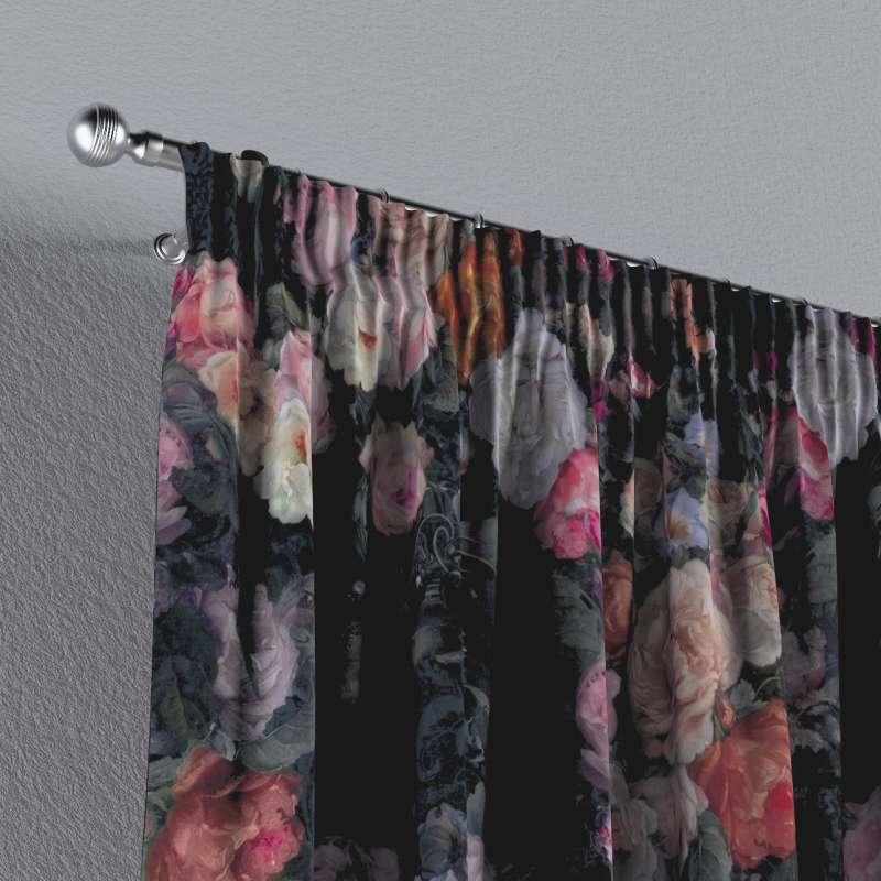 Záves na riasiacej páske V kolekcii Gardenia, tkanina: 161-02