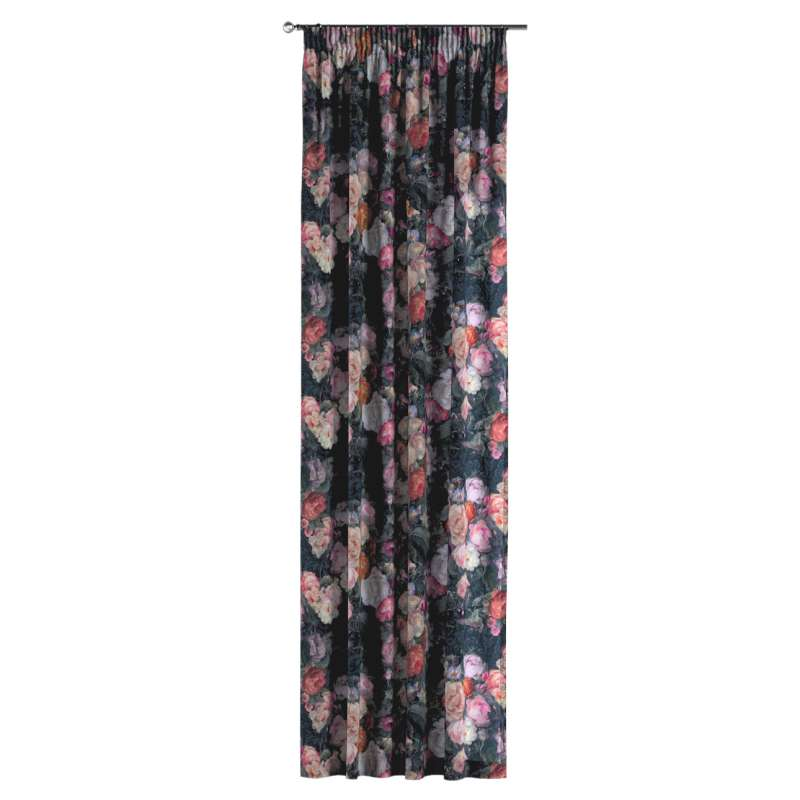 Pencil pleat curtain in collection Gardenia, fabric: 161-02