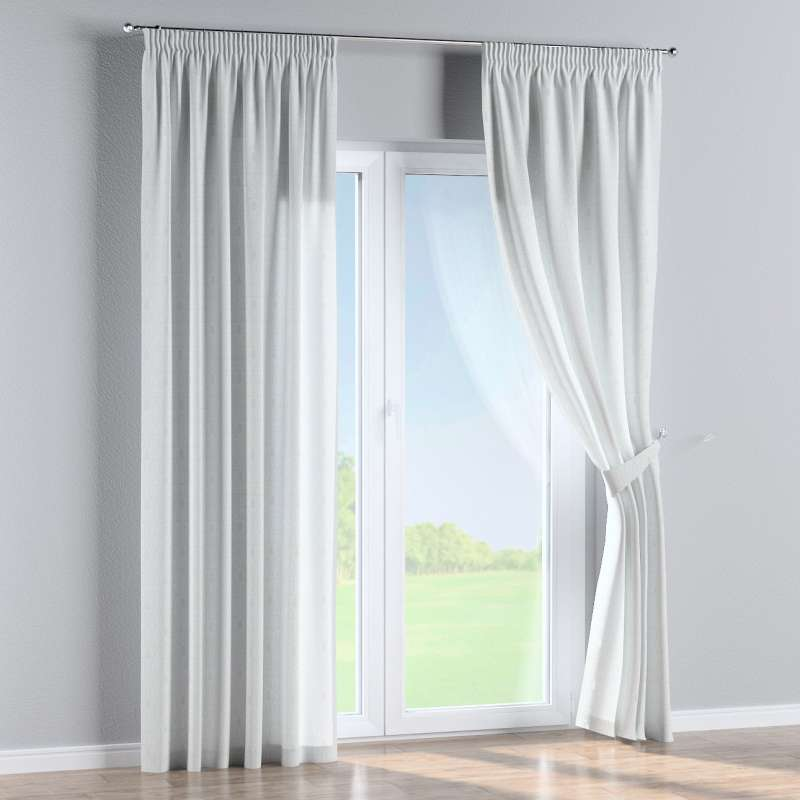 Pencil pleat curtains in collection Christmas, fabric: 629-40
