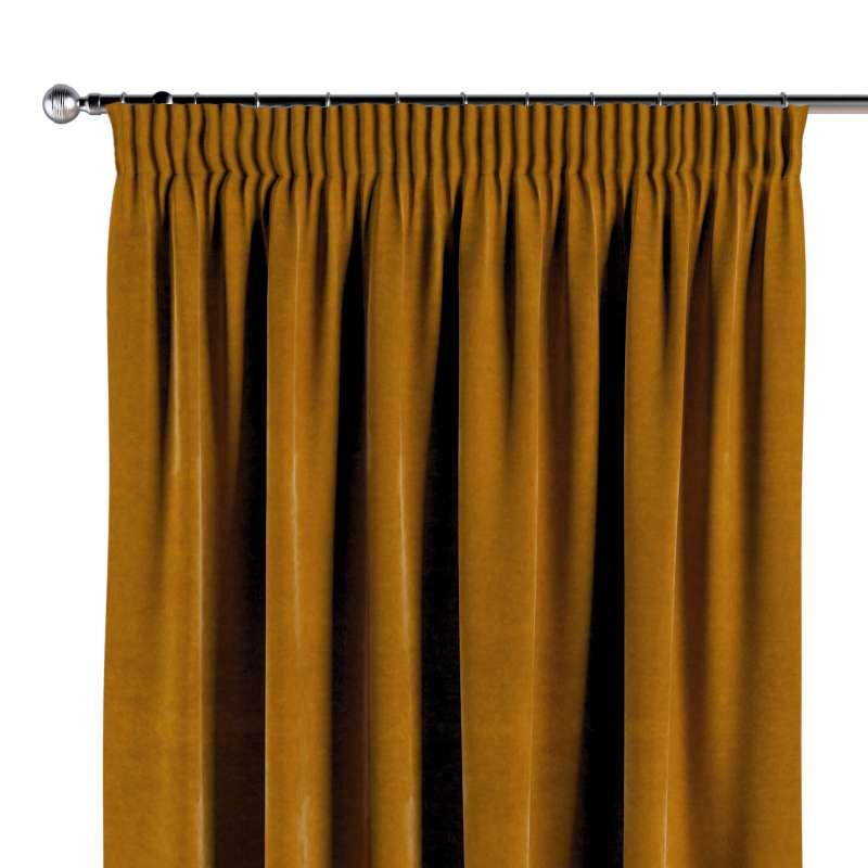 Függöny ráncolóval a kollekcióból Velvet  Lakástextil, Dekoranyag: 704-23