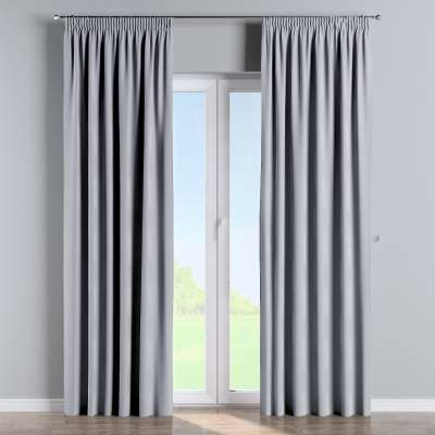 Pencil pleat curtains in collection Velvet, fabric: 704-24