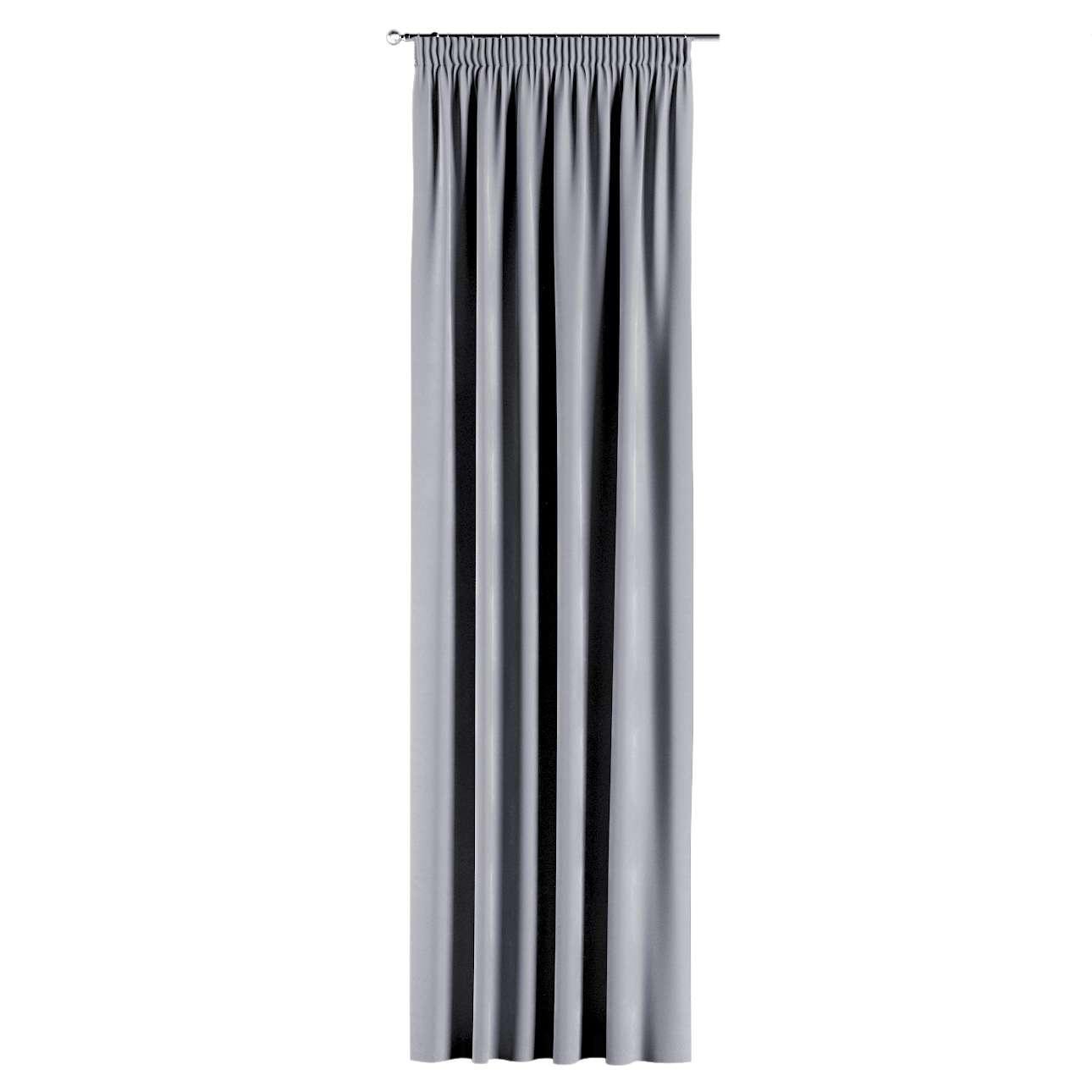 Závěs s řasící páskou v kolekci Velvet, látka: 704-24