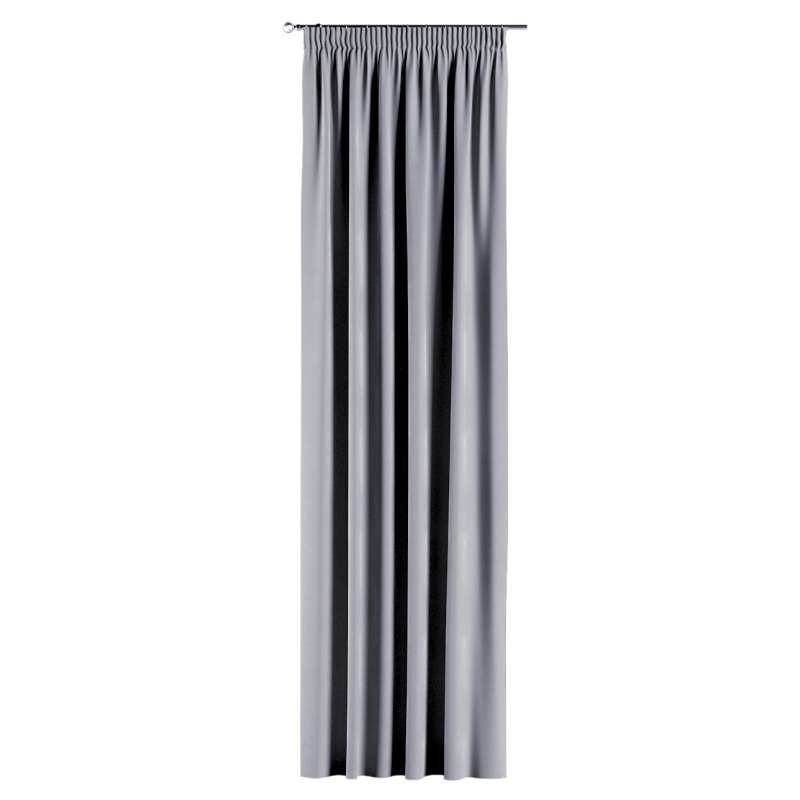 Gardin med rynkband 1 längd i kollektionen Velvet, Tyg: 704-24