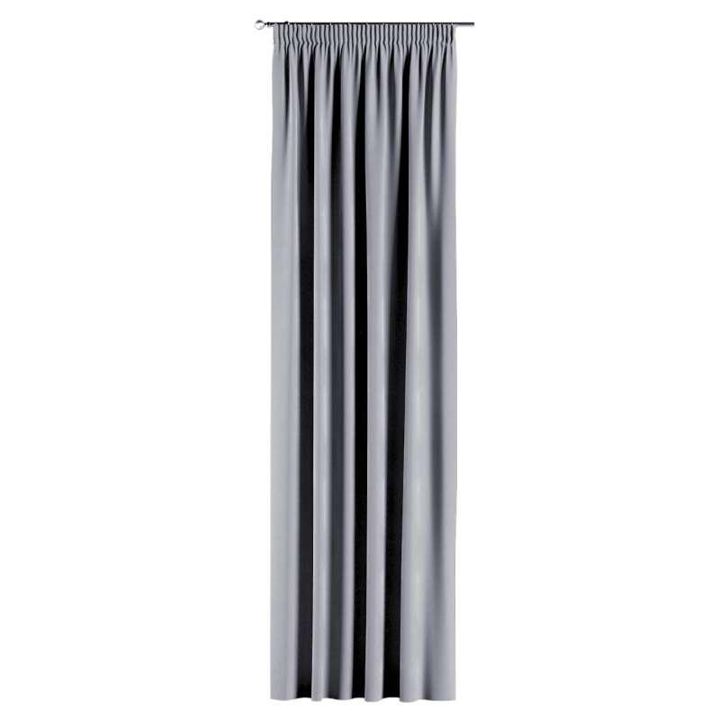 Vorhang mit Kräuselband von der Kollektion Velvet, Stoff: 704-24
