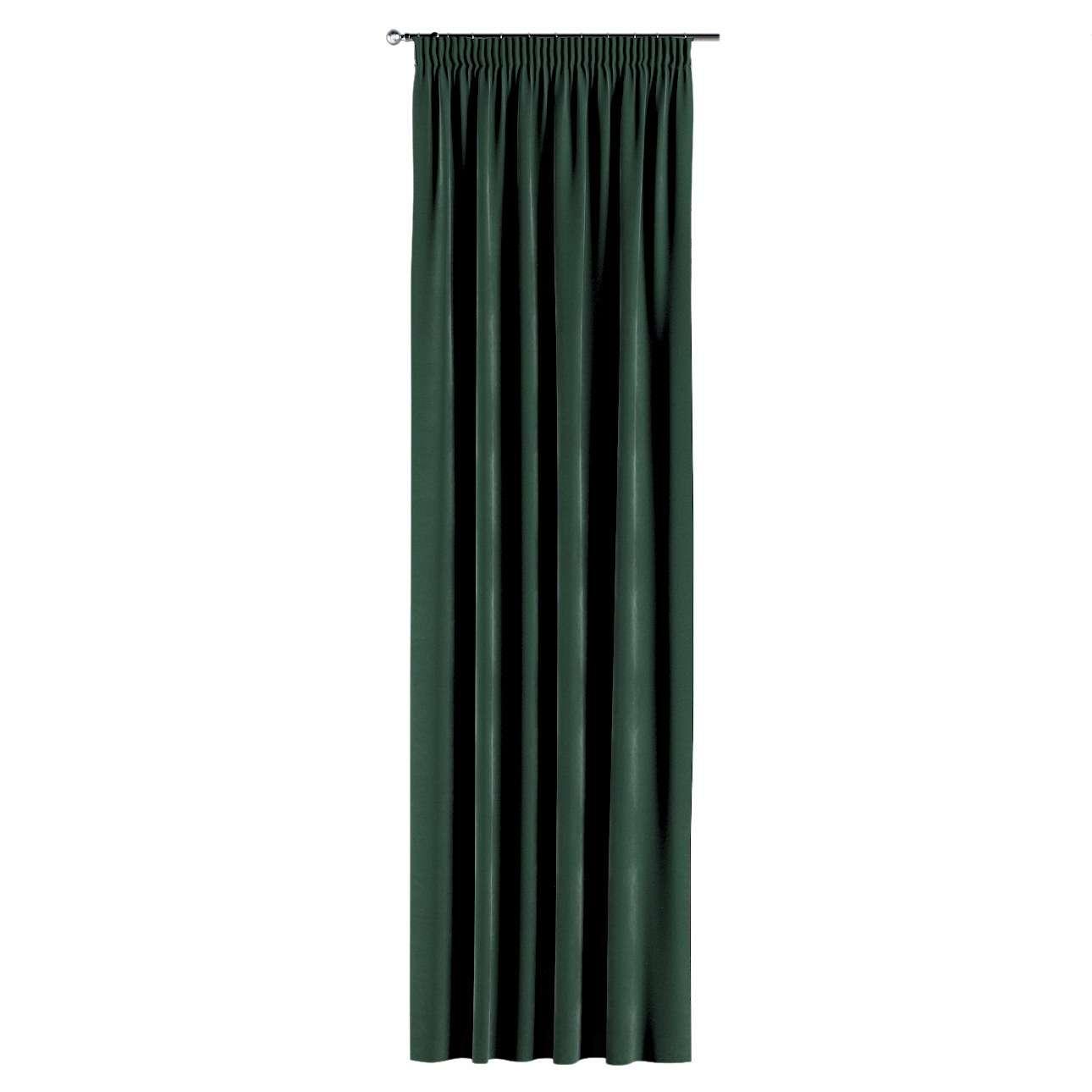 Gordijn met plooiband van de collectie Velvet, Stof: 704-25