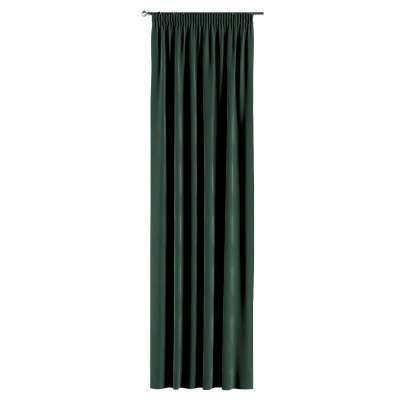 Záves na riasiacej páske V kolekcii Velvet, tkanina: 704-25