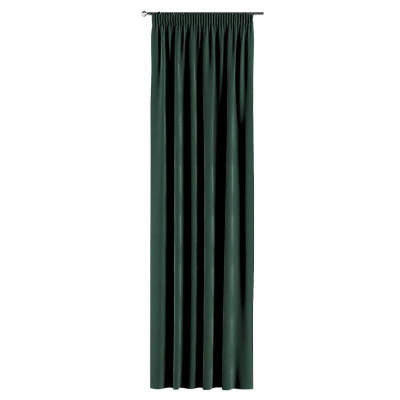 Gardin med rynkband 1 längd i kollektionen Velvet, Tyg: 704-25