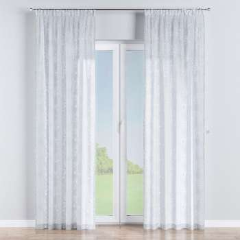 Pencil pleat curtains in collection Romantica, fabric: 141-97