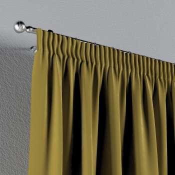 Zasłona na taśmie marszczącej 1 szt. w kolekcji Velvet, tkanina: 704-27