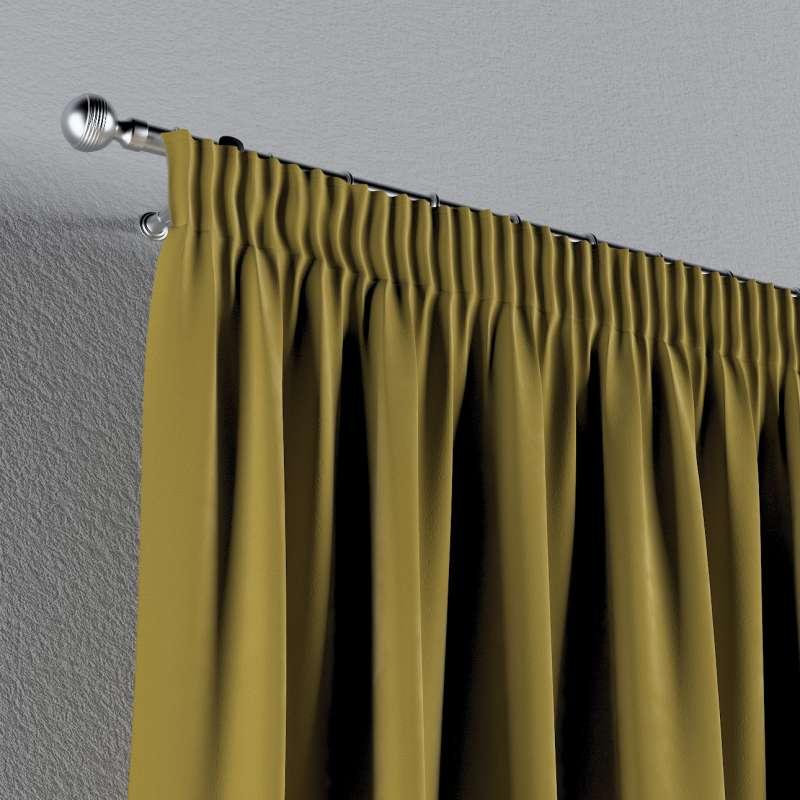 Gardin med rynkebånd 1 stk. fra kollektionen Velvet, Stof: 704-27