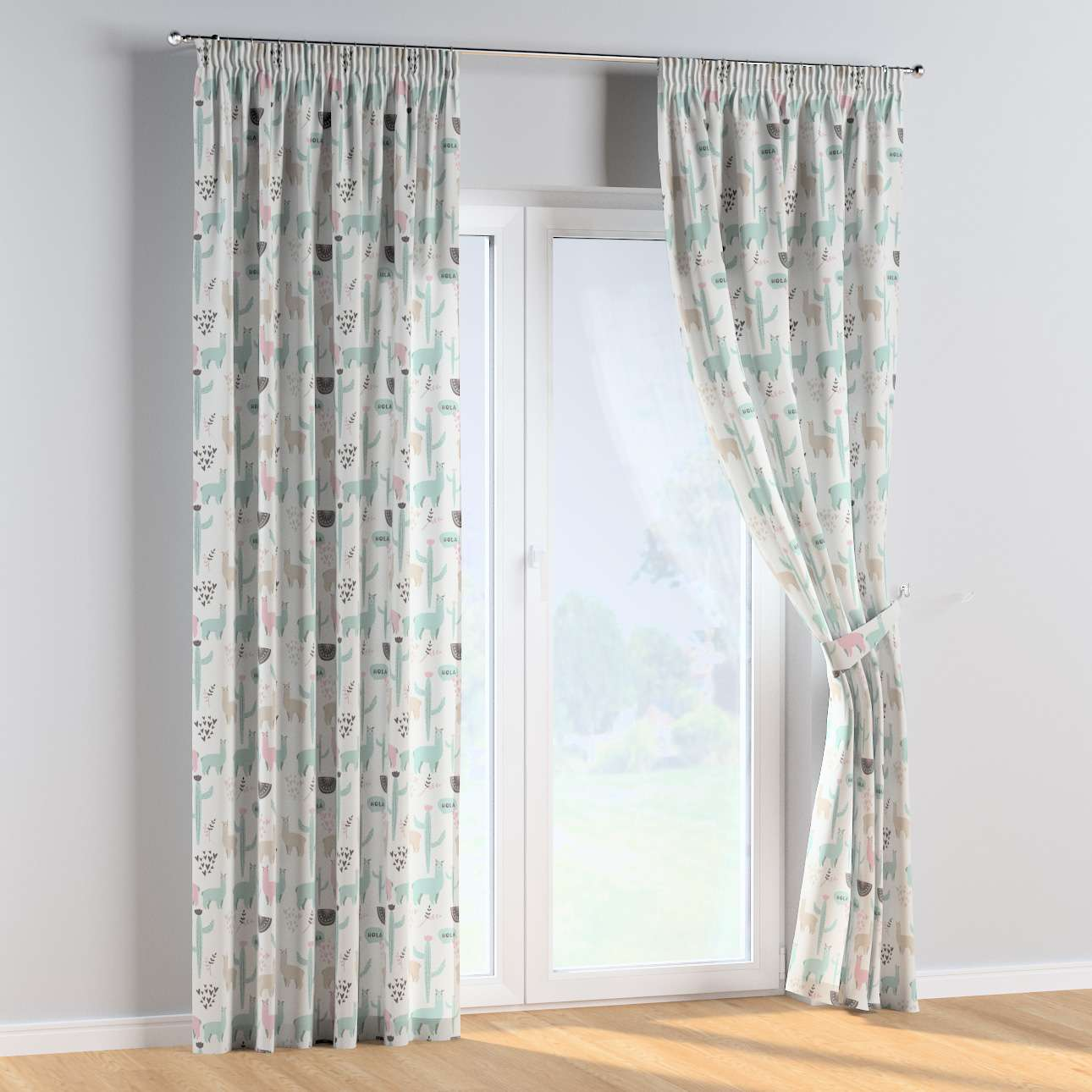 Pencil pleat curtains in collection Magic Collection, fabric: 500-01