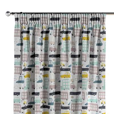 Pencil pleat curtains in collection Magic Collection, fabric: 500-02
