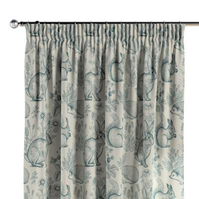 Vorhang mit Kräuselband 1 Stck. 500-04 blau Kollektion Magic Collection