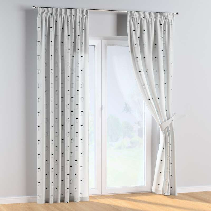 Pencil pleat curtains in collection Magic Collection, fabric: 500-06