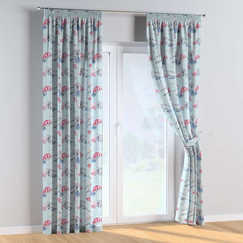 Pencil pleat curtains in collection Magic Collection, fabric: 500-10
