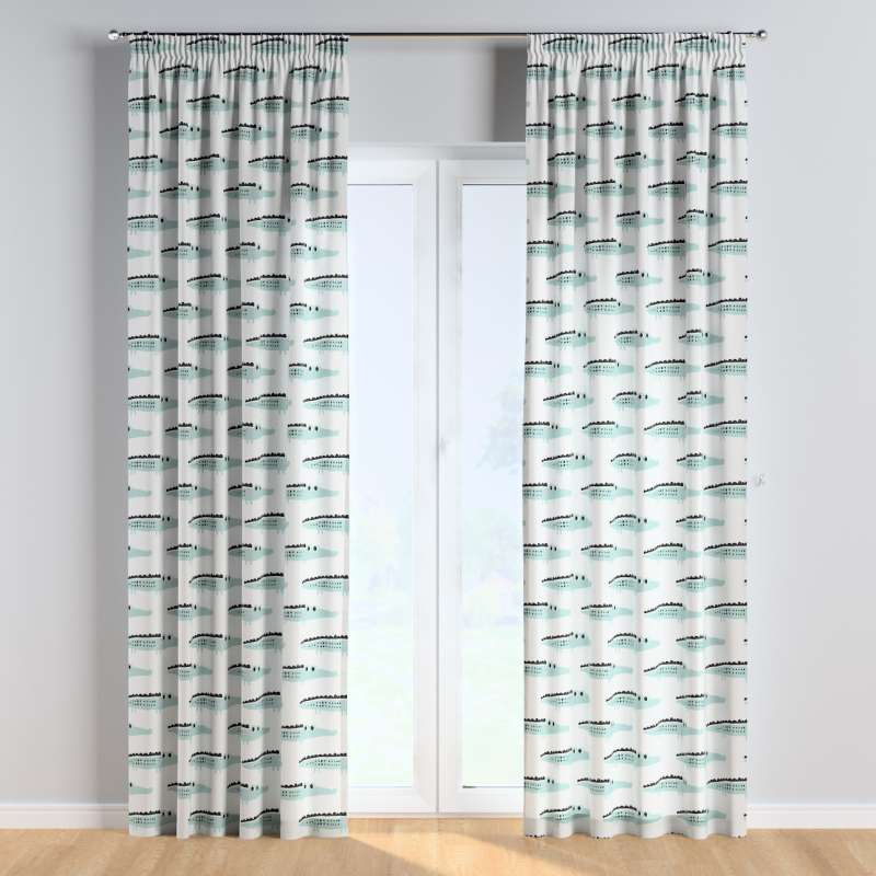 Pencil pleat curtains in collection Magic Collection, fabric: 500-11