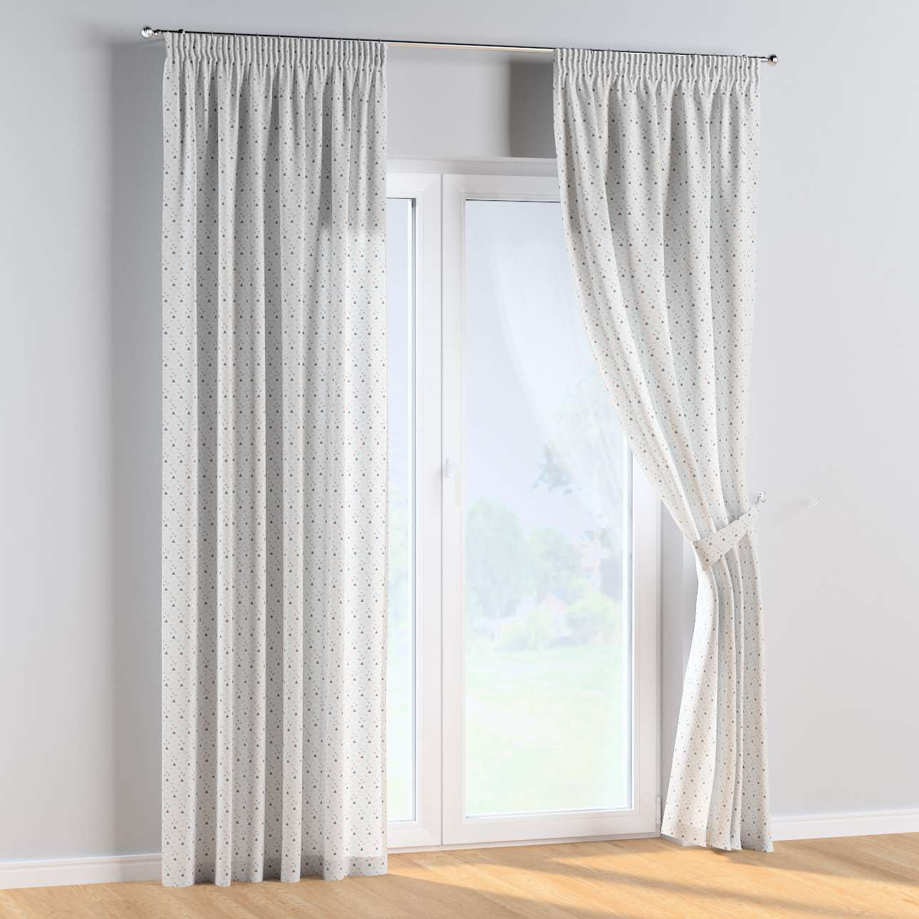 Pencil pleat curtains in collection Magic Collection, fabric: 500-22