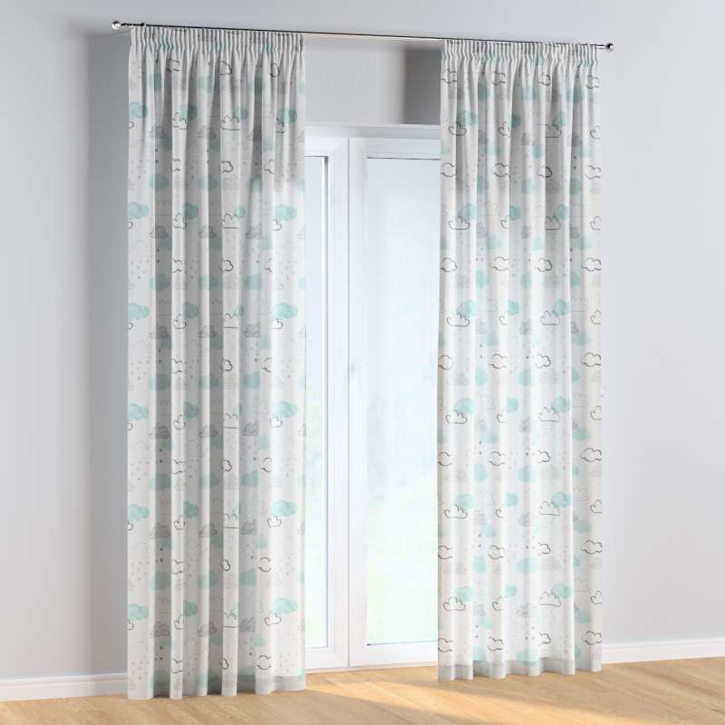 Pencil pleat curtains in collection Magic Collection, fabric: 500-14