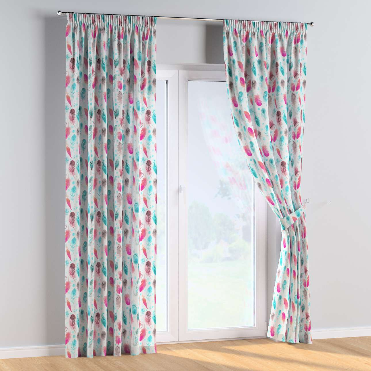 Pencil pleat curtains in collection Magic Collection, fabric: 500-17