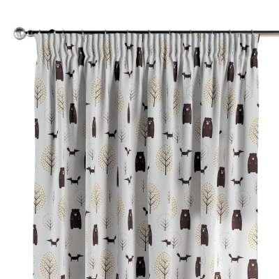 Vorhang mit Kräuselband 1 Stck. 500-19 ecru-braun Kollektion Magic Collection