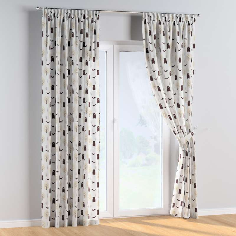 Pencil pleat curtains in collection Magic Collection, fabric: 500-19
